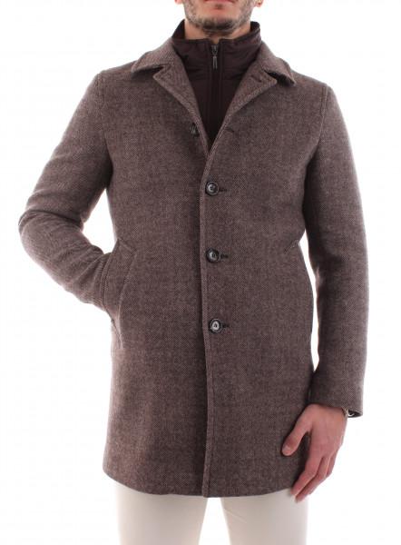 Short coat blue man with double neck B20-00
