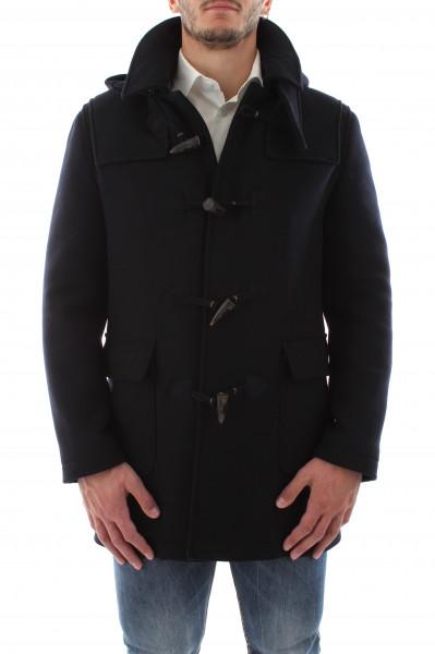 Cappotto corto moro uomo con doppio collo B20-02