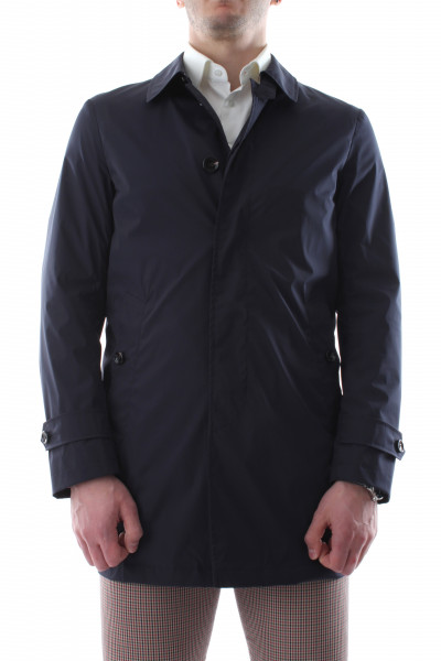 Men's unlined single-breasted trench coat P21-06
